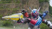 Zi-O Build Armor cameo