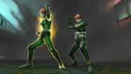 Kamen Rider Black & RX in Battride War Genesis