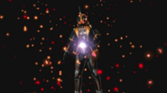 Kamen Rider Ghost transforming into Eyecon Driver G in Battride War Genesis