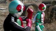 Rider 2 ToQger vs. Gaim