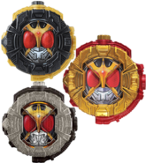 All Kuuga Ridewatches