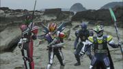 Onigashima Den-O Riders 2