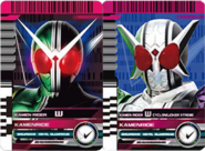 All Double (W) Rider Cards