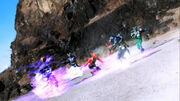 Gokai Red vs Black,G3,Knight,Zolda,Hibiki & Gatack