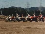 KamenRider(1979) New Skyrider Seven Riders