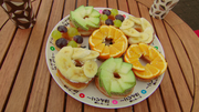 Fruits Doughnuts