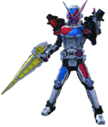 Kamen Rider Zi-O Build Armor in City Wars