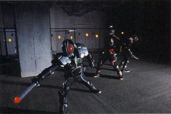 Kamen Rider Delta Belt King's Appearance | Ka...
