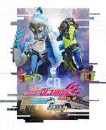 Kamen Rider Brave & Snipe Korean Poster