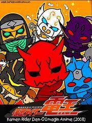 Kamen Rider 2008 Den O Imagin Anime