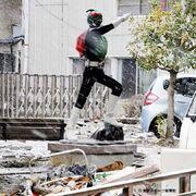Ichigo earthquake statue