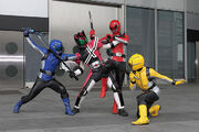 Decade Vs. Go-Busters