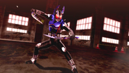 Kamen Rider Gatack Cast Off intro in Battride War Genesis