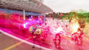 Triple Attack (Ghost Mugen Damashii - Deep Specter - Necrom)