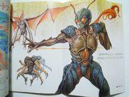 1986 Kamen Rider Keita Amemiya drawing