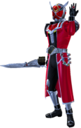 Kamen Rider Wizard Flame Dragon in City Wars
