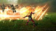 Hibiki Armed Slashes