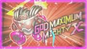 God Maximum Mighty X Start Screen