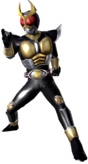 Kamen Rider Agito in Battride War Genesis