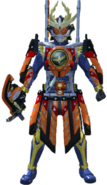 Kamen Rider Gaim Kachidoki in City Wars