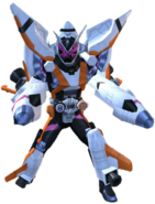 Kamen Rider Zi-O Fourze Armor in City Wars