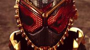 Oma Zi-O mask closeup