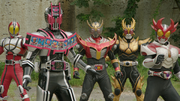 Final Forms-Decade ,Faiz ,Ryuki , Agito and Kuuga