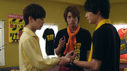 Sougo meets Ryuga and Sento