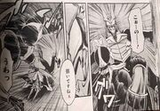 Shouichi punching another agito