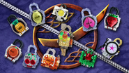 Current Gaim lockseed