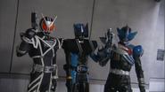 3 Gun Riders DCDEP13