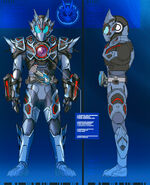 Kamen rider vulcan assault wolf concept art