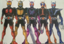 Kuuga Early Design (5 forms)