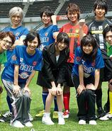 Team Gaim (Soccer World) Main members