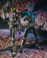 Kabuto Dark Kabuto & Gatack SIC Vol53