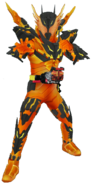 Kamen Rider Cross-Z Magma in City Wars