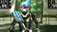 Kamen Rider Meteor intro in Battride War Genesis