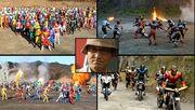 Rider War and Legend War
