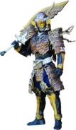 Another Gaim with weapon