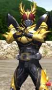 Kamen Rider Kuuga (A.R. World) in Ganbarizing
