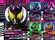 All Kiva Rider Cards