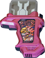 KREA-Mighty Action X Gashat (Commercially Available)