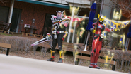 Ryuki Knight Finisher Step 5