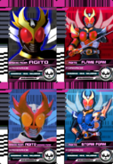 All Agito Rider Cards