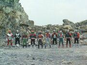 Ten Riders in RX 42