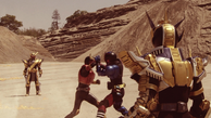 Kuuga vs. Build