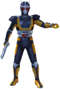 Kamen Rider Black RX Robo Rider in City Wars