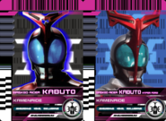 All Kabuto Rider Cards