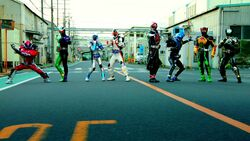 Neo-Heisei Eight Riders