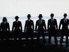 Black Suit Employees